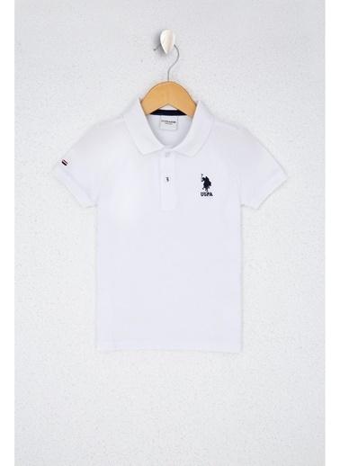 U.S. Polo Assn. U.S. Polo Assn. Beyaz Erkek Çocuk T-Shirt Beyaz